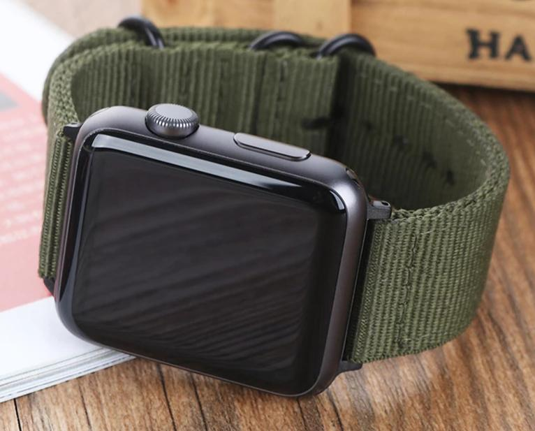 Hot Sell Nylon Watchband for Apple Watch Band - Gaby.shop