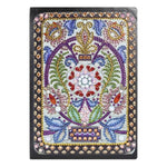 DIY Skull Special Shaped Diamond Painting Notebook 50 Pages A5 Painting Book Sketchbook Diamond Embroidery Cross Stitch Craft - Gaby.shop