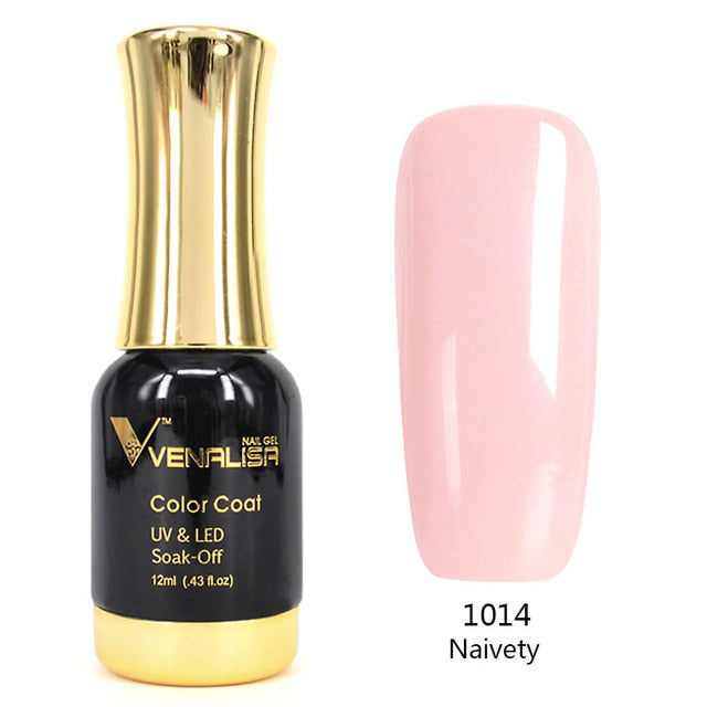 Nail Art 2020 New Venalisa Nail Paint Gel 12ml 120 colors Gel Polish Nail Gel Soak Off UV Gel Polish Nail Lacquer Varnishes - Gaby.shop