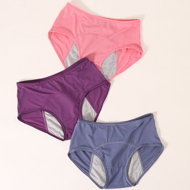 3pcs/Set Menstrual Panties - Gaby.shop