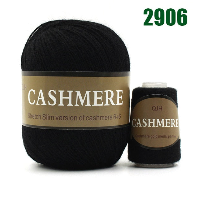 Best Quality 100% Mongolian Cashmere Hand-knitted Cashmere Wool Yarn - Gaby.shop