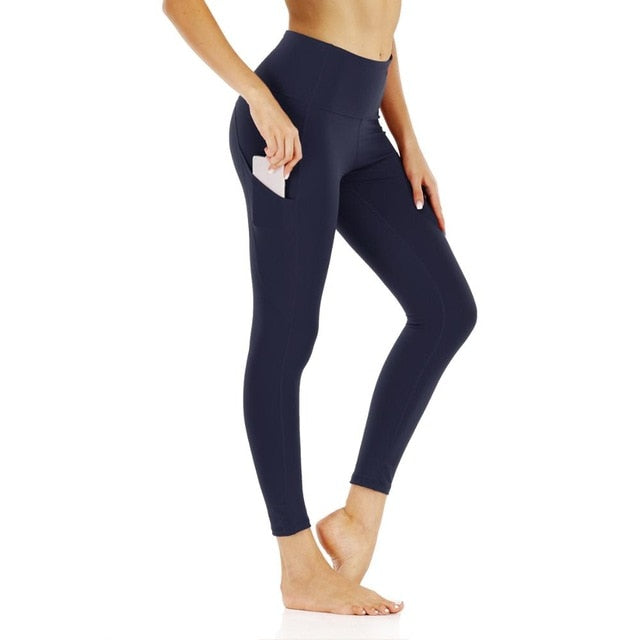 2020 New Yoga Fitness Sport Leggings Tights Slim Running Sportswear Sports Pants - Gaby.shop
