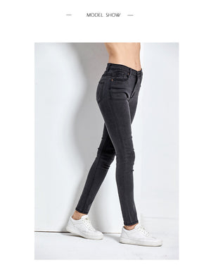 Women's High Waist Jeans Skinny Jeans - Gaby.shop
