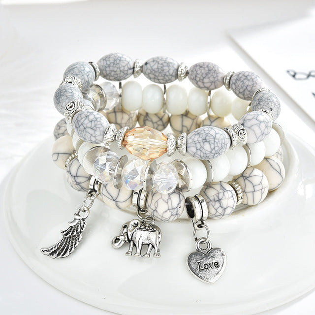 New Fashion Crystal Star Charm Bracelets for Women - Gaby.shop