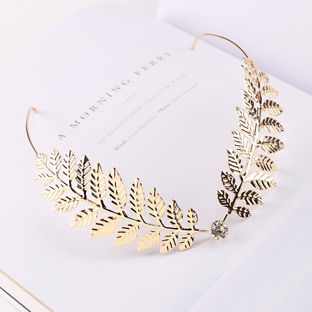 1PC New Arrival Fashion Headbands For Women Crystal Alloy Hairbands Back Holder Headwear Girls Lovely Hair Band Hair Accessories - Gaby.shop