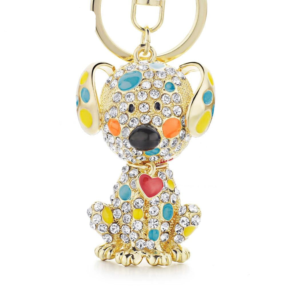 love Dog Heart Keychains - Gaby.shop