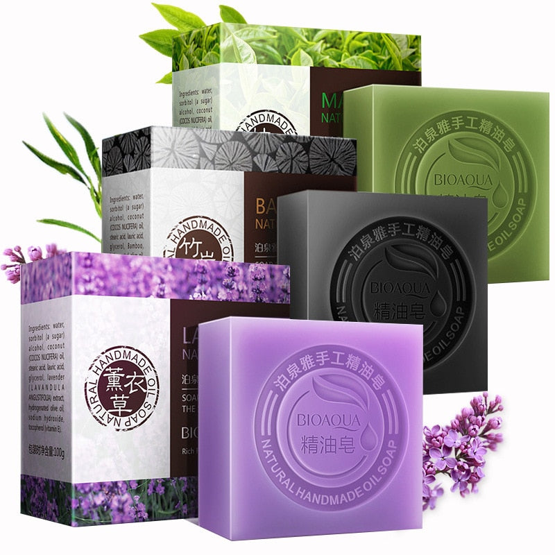 Whitening Handmade Natural Organic Herbal Essential Oil Soap - Gaby.shop