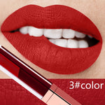 24 Color Liquid Waterproof Mate Red Lip Long Lasting Ultra Matte Lip Gloss Black Blue Nude Lipstick - Gaby.shop