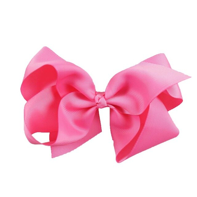 Grosgrain Ribbon Hair Bow - Gaby.shop