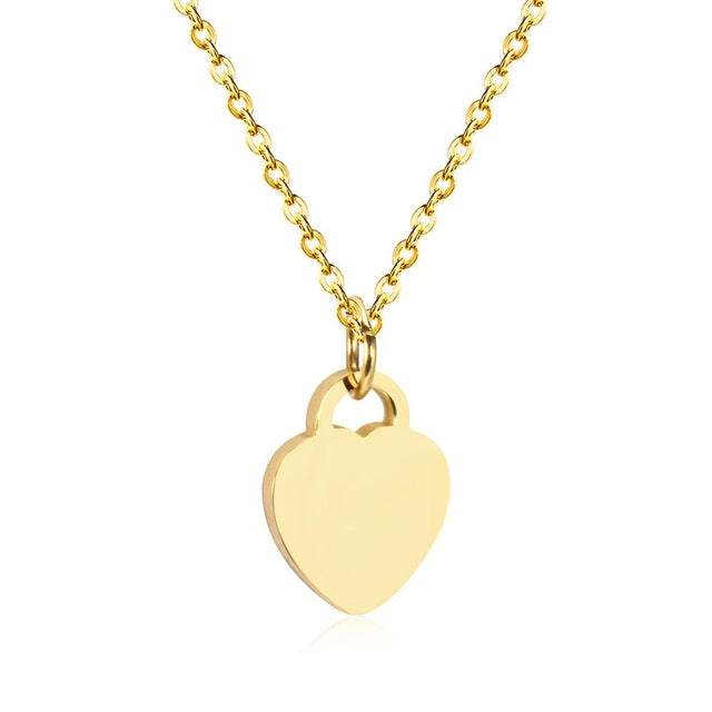 Heart Pendants Necklaces - Gaby.shop