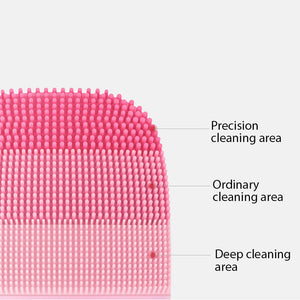 Electric Deep Facial Cleaning Massage Waterproof  Brush - Gaby.shop