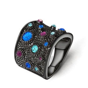 Rhinestones Cocktail Ring 2019 - Gaby.shop