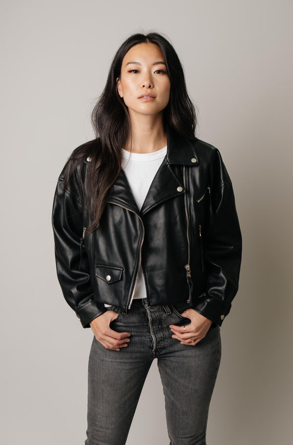Girl Squad Leather Jacket