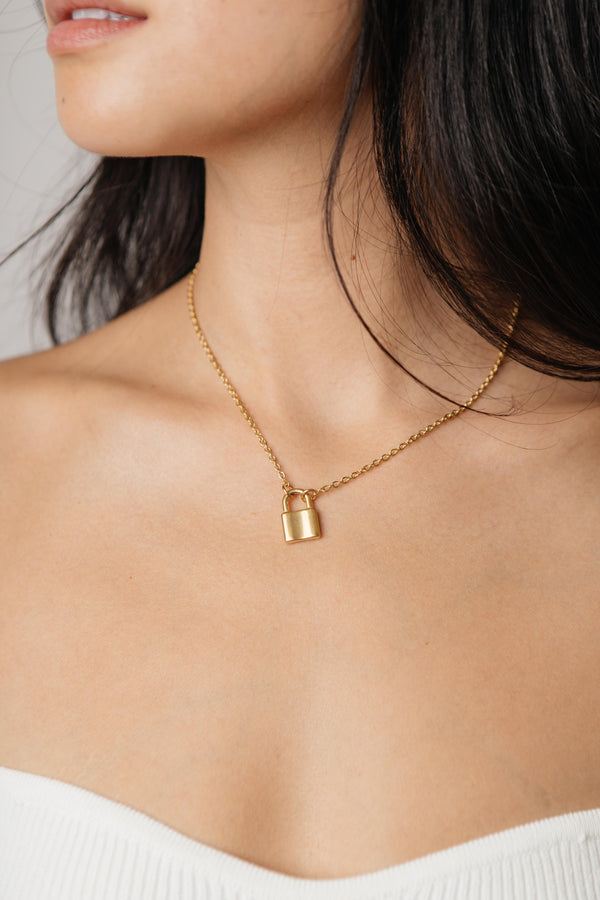 On Lock Necklace