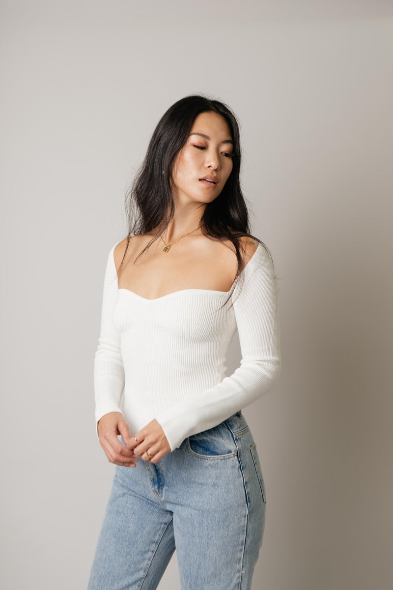 Bianca Top // White