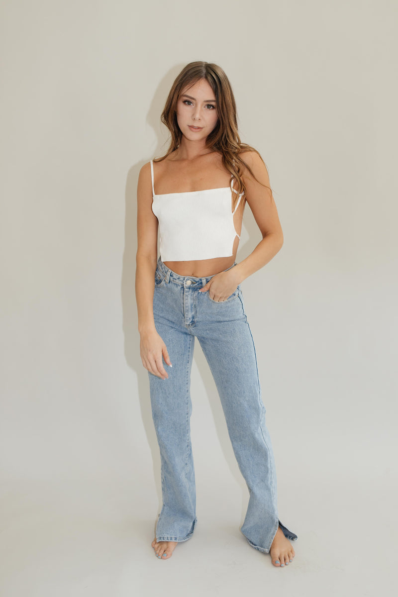 New York Cropped Cami
