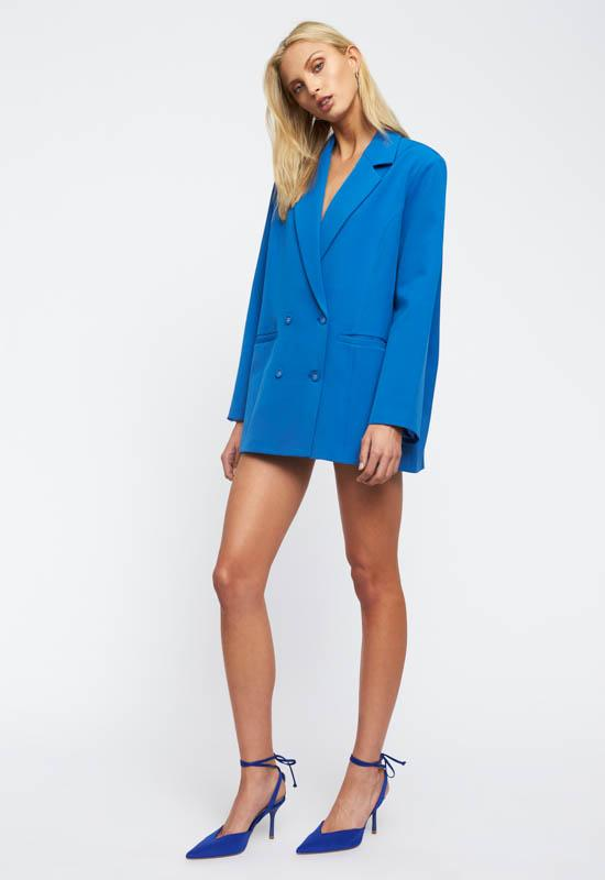 Wyoming Blazer // Cobalt Blue