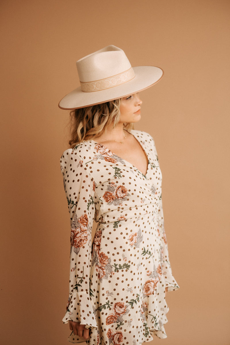 Hopeless Romantic Wrap Dress