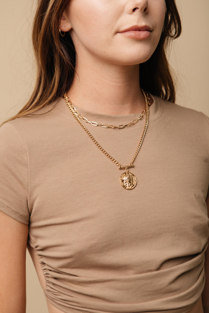 Euro Gold Necklace