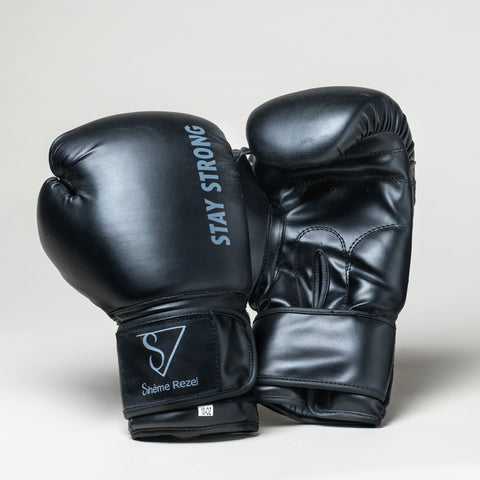 Gants de boxe - Sihème Rezel - Strong Black