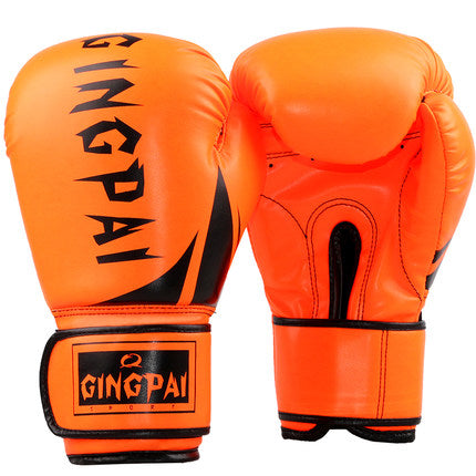 Gants de boxe enfant - Gingpai - Orange