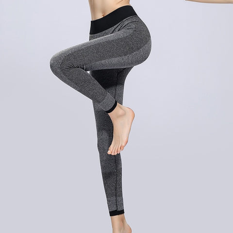 Legging - Fitness - Gris