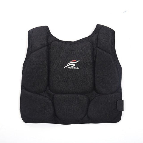 Sanda Karate Chest Protector Kickboxing Team Training Bust Guard Body Armor Combat Competition Fitness Equipment Kids Men Women