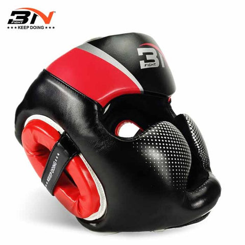 Casque de protection - 3N - Rouge - Fight - Boxeuse.com