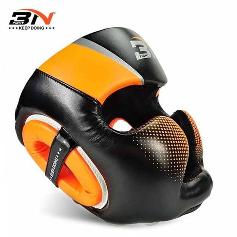 Casque de protection - 3N - Orange - Fight - Boxeuse.com