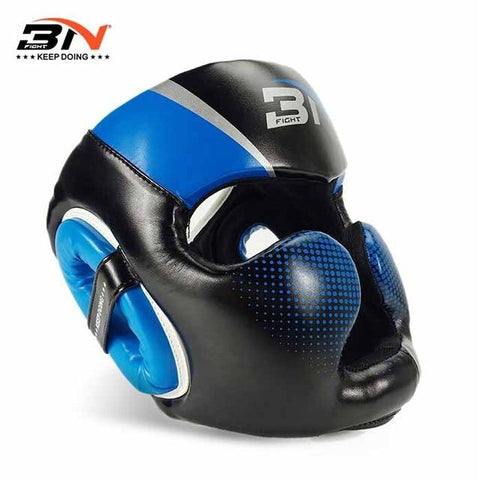 Casque de protection - 3N - Bleu - Fight - Boxeuse.com