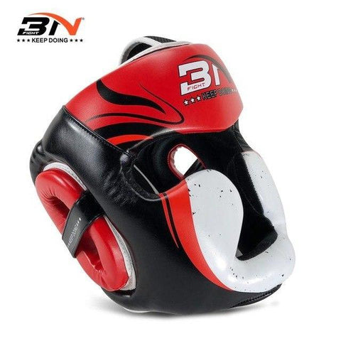 Casque de protection - 3N - Rouge et Blanc - Fight - Boxeuse.com