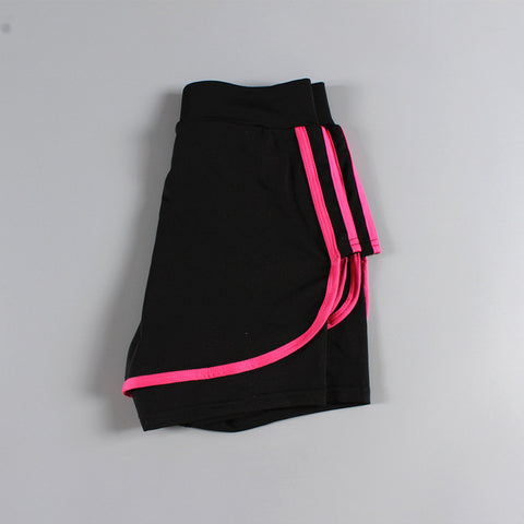 Short de sport - Rose Fluo