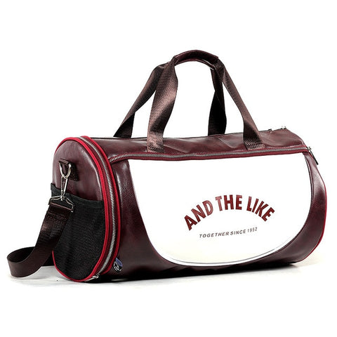Sac de sport - And the like since 1952 - Bordeaux et blanc
