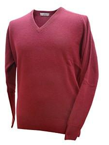 Laksen Astor Knit V Neck Pullover
