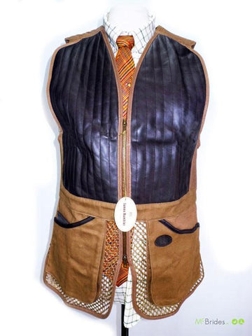 James Rambler Shooting Vest Size XL
