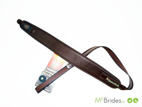 Niggeloh Brown Leather Rifle Strap