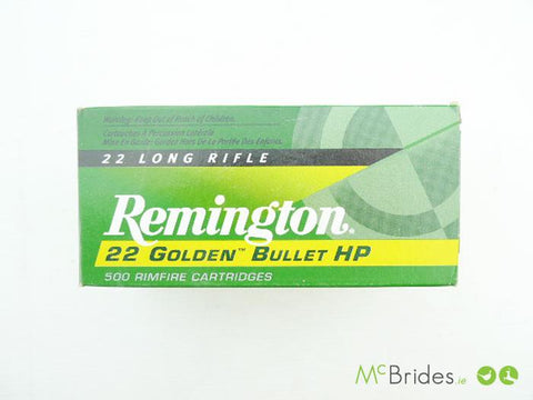 .22 LR G/Jacket 36g HP HV