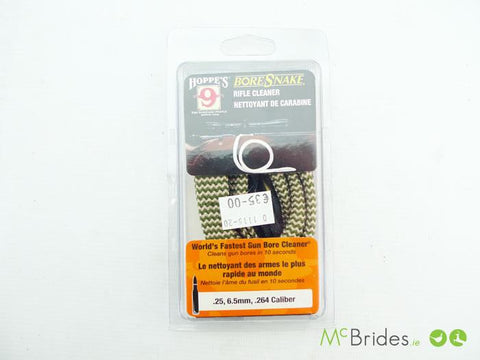 BoreSnake Rifle Cleaner .264 Cal .25 6.5mm