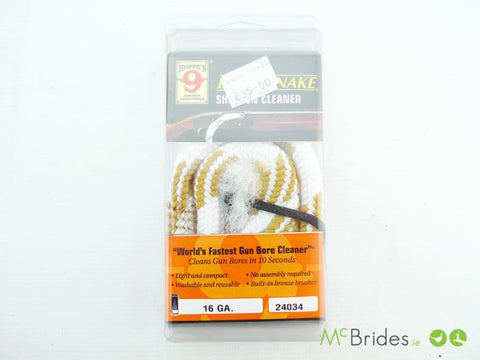 BoreSnake Shotgun Cleaner 16 Gauge