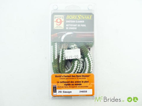BoreSnake Shotgun Cleaner 20 Gauge