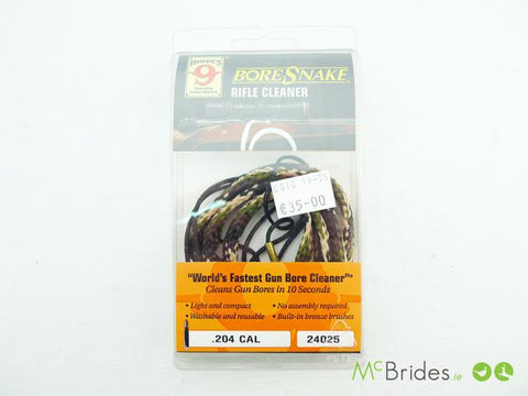 BoreSnake Rifle Cleaner .204 Cal