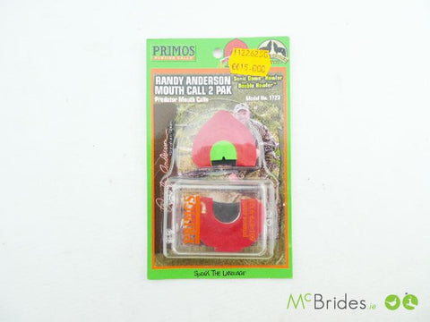 Primos Randy Anderson Mouth Call 2 Pack