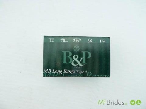 B&P MB L/Range 36g (10 Per Box)