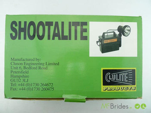 Clulite Shootalite Rechargeable Lamp Kit
