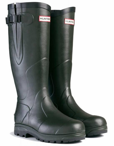 HUNTER CLASSIC BALMORAL WELLINGTON BOOTS - DARK OLIVE