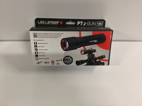 Led Lenser gun mounted led set.