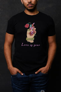 Love is Sour T-Shirt by @hafandhaf