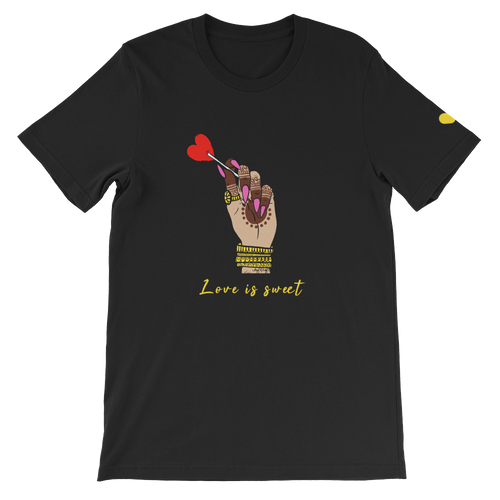 Love is Sweet T-Shirt by @hafandhaf