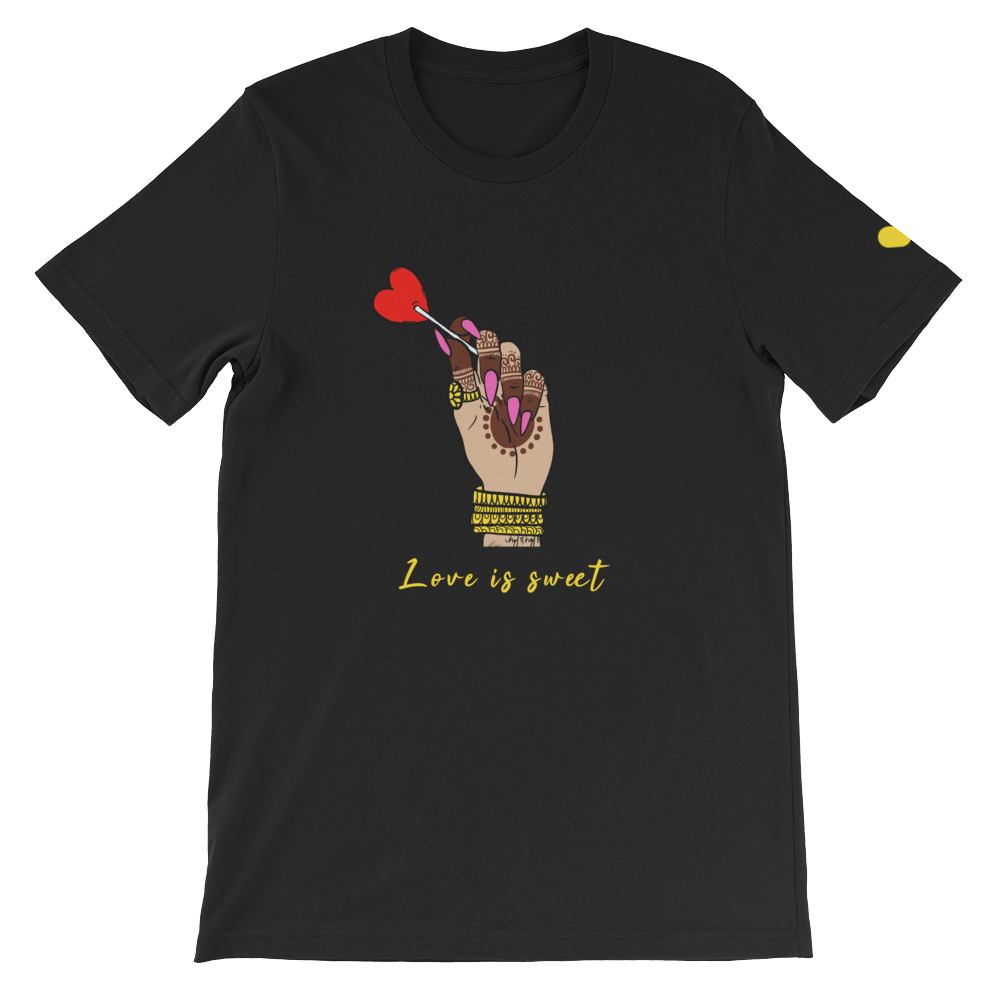 Love is Sweet T-Shirt (Unisex)