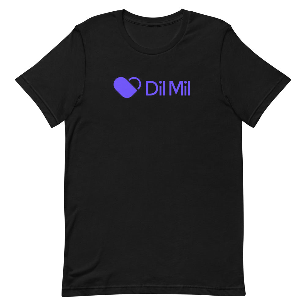 Dil Mil Purple Logo T-Shirt